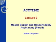 ACCT2102 - Lecture 9(2)