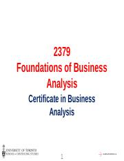FBA_Session 8 - Requirements Analysis & Design Definition