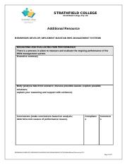 WH and S Minitor and review template Part B.docx