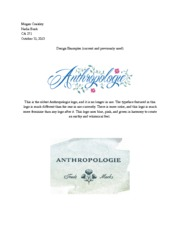 CA 271 Design Samples for Anthropologie