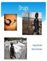 Drugs Problem Solution Presentation