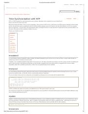 Time Synchronisation with NTP.pdf