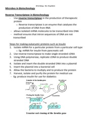 Microbes in Biotechnology - Part 5