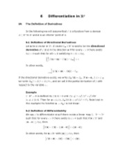Advanced Calculus Chapter 6