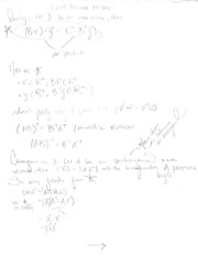 Linear Algebra Cumulative Course Notes