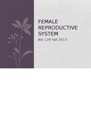 139 13F Female Reproductive System