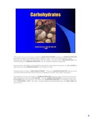 Carbohydrates Scripted PDF Notes.pdf