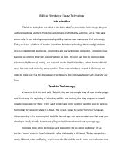 yorkp biblical worldview essay running head biblical worldview 4 pages rough draft theo 104
