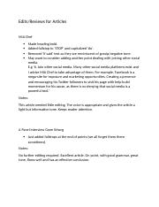 Edits for 3 Articles-Molly-Odesk-2nd Feb 2014.docx