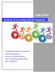 HRD Learning and Development.docx