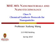 Lecture 9 - NP synthesis