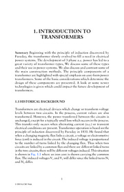 Chapter 1. Introduction to Transformers