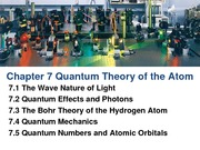 Chapter 7 Quantum Theory of The Atomdone