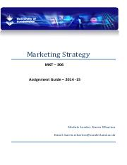 MKT306 Assessment April 2015 KW.pdf