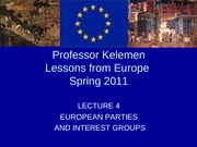 Lecture4_EuropeanPartiesAndInterestGroups