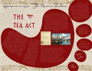 Footprints to American Revolution: THE TEA ACT