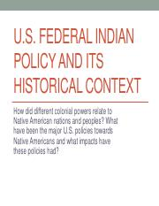 Federal Indian Policy AIS 102 2018 (1).pdf