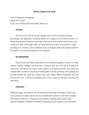 Company case study
