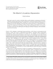The Mind of a Leaderless Organization.pdf