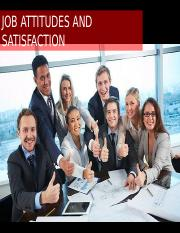 Powerpoint on Job Satisfaction
