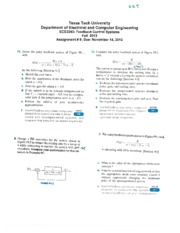 3353 ECE Assignment 9 with answers