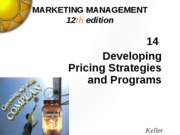 Kotler14 pricing