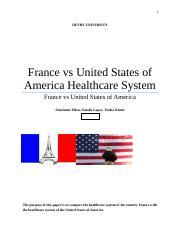 france healthcare system vs united states
