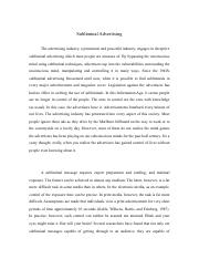 Subliminal Advertising Research Paper