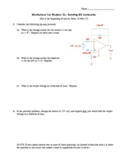 C1worksheet