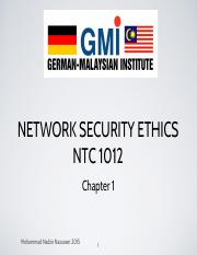 Nadzir NTC 1012 chapter 1 slide new
