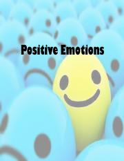 NYUScienceocHappiness PositiveEmotions Spring 2017 Post