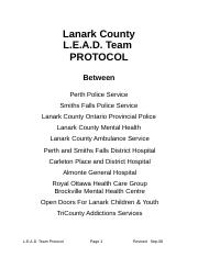 LEAD Team Protocol.doc