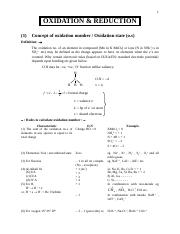 OXIDATION AND REDUCTION.doc