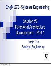 Lecture #7 Functional_Architecture - Part 1.pdf