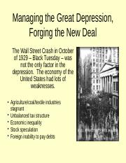 Ch 23 - Managing the Great Depression Forging the New Deal v3 full notes.pptx