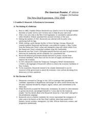 chpt outline from new era to great depression the 9 pages chpt 24 outline the new deal experiment 1932 1939
