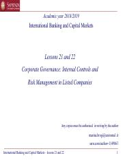 IBCM 2018-2019 - 22 - Governance controls and risk management in banks.pdf