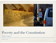 13 - Poverty and the Constitution