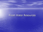 Freshwater+resources