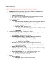 Midterm Study Guide 2