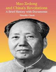 Mao Zedong and China's Revolutions A Brief History with Documents.pdf