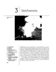 Chapter 03 - Stoichiometry