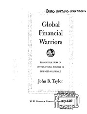 Taylor, Global Fin Warriors, ch 10