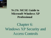 Windows Xp Professional Chapter 06