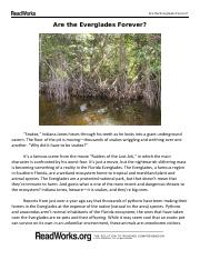 8th - Are the everglades forever.pdf