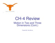 CH-4 -Part 2-Review
