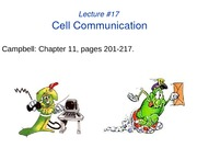 LECTURE-17_Cell Communication 1 and 2