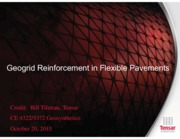 2015-10-20-Geogrid Reinforcement in Flexible Pavements