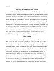 Benchmark Ethical Dilemma Essay.docx