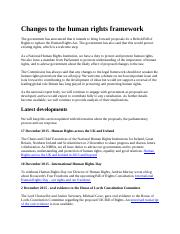 Changes to the human rights framework.docx